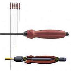 107486R, DCFR 17-20 cal 36 Карбоновый Шомпол, длина 91.5см. 17-20 (4.5 - 5.5)кал. дюймовая резьба