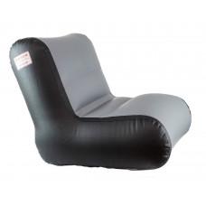 Кресло надувное для лодок с кокпитом 75-85, темно-серое