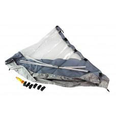 Тент носовой для лодки СОЛАР 350, серый