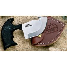 Нож Game Skinner 14см.,разделочный кожаный чехол. GS-100
