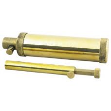 Пороховница в комплекте с дозатором от 5 до 120 гран (латунь). Traditions Performance Firearms
