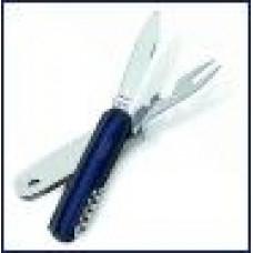 Нож Futura picknick 3, зеленая рукоять 17-251320-0051
