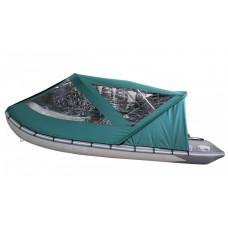 Тент базовый для лодки Forward/Suzumar 390, зеленый