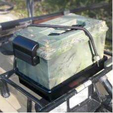 Герметичный ящик для снаряжения с лотком, возможностью крепления на квадроцикле, багажнике на крыше