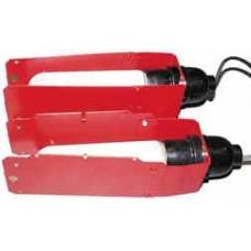 Shooting CHRONY Light Fixture - набор лампы+кронштейны+экраны для измерения скорости в тёмных помеще
