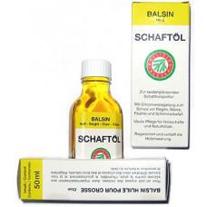 Balsin Schaftol 50ml (бесцветное) средство для обработки дерева