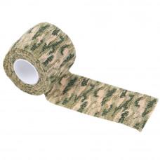 Лента камуфляжная Защитная цвет: Woodland Digital Camo (204)