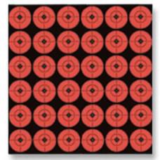 360 самоклеящихся мишеней для металлических сбрасываемых мишеней, круг диаметр 2,5см.