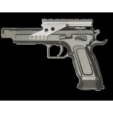 Пистолет пневматический Tanfoglio Gold Custom CO2 Blowback 4.5mm, 91 м/с