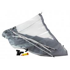 Тент носовой для лодки Кайман 360, серый