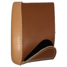 Амортизатор Deluxe коричневый кожаный средний. 04512