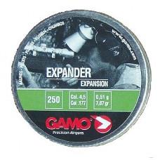 Expander cal.4,5, пули пневматические, 250шт./уп., вес пули 0,51 г. 632-2524