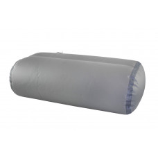 Сиденье надувное пуфик прямоугольный для кокпита 80 см, Икс-Ривер, светло-серый