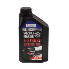 Масло Suzuki Marine Premium 4Т. 10W40, 1 л, минеральное
