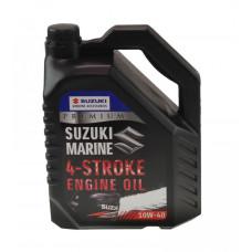 Масло Suzuki Marine Premium 4Т. 10W40, 5 л, минеральное