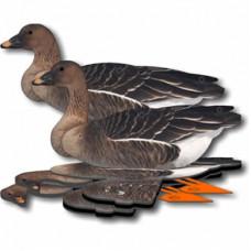 BN Комплект гусей из 6шт. Bean Goose (Гуменник)