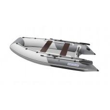 Лодка надувная ПВХ Aquilon 360, серо-белая, пол надувной низкого давления