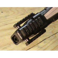 Держатель планок пикатини, передний в комплекте с планками для СКС. SG Works.