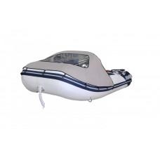 Тент носовой для лодки Forward/Suzumar 290, серый