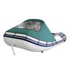 Тент носовой для лодки Forward/Suzumar 290, зеленый