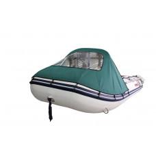 Тент носовой для лодки Forward/Suzumar 320, зеленый