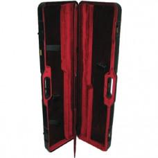 Кейс велюровый для оружия, пластик, для двух ружей (2-ств. и полуавтоматов) 92,5х23х10см 1677 L