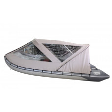 Тент базовый для лодки Forward/Suzumar 390, серый