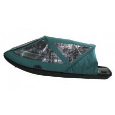 Тент базовый для лодки Forward/Suzumar 420, зеленый