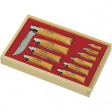 Набор 2-12VRN (10 шт) ножей из углеродистой стали, рукоять-бук 183102