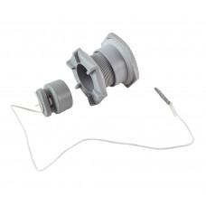 Клапан сливной для лодки ПВХ h36мм, серый