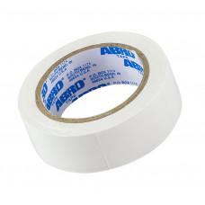 Изолента белая 19 мм х 9.1 м, ABRO