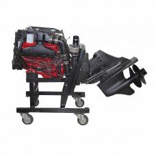 Стационарный двигатель Volvo Penta 5.7GXI-G с колонкой DP-SM, б/у