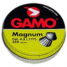 Magnum cal.4,5, пули пневматические, 250шт/уп.., вес пули 0,51 г. 632-0224