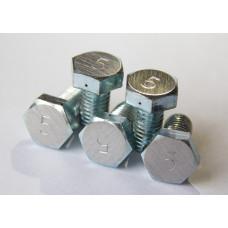Жиклер стальной №5 для дроболейки DK-5 (Дробь №4-5)