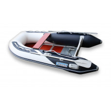 Лодка надувная ПВХ Forward MX290FL, сине-белая, пол деревянный