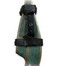 Крепление для установки рыболовной катушки на рекурсивный лук