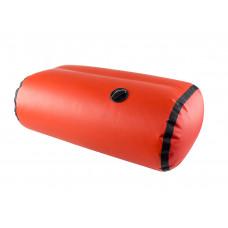 Сиденье надувное пуфик прямоугольный для кокпита 68 см, Икс-Ривер, красный