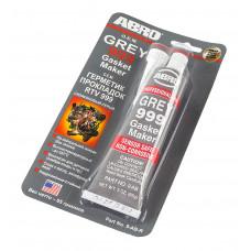 Герметик прокладок силиконовый, серый, 85 г, ABRO