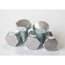 Жиклер стальной №6 для дроболейки DK-5 (Дробь №5-6)